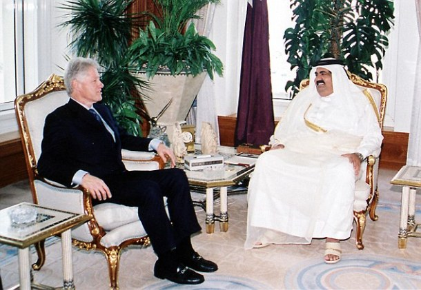 billclinton-qatar