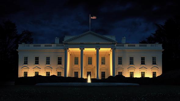 Night-white-house