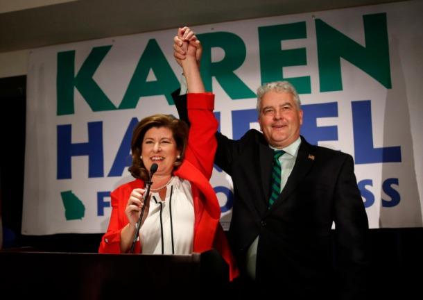 Karen Handel, Steve Handel